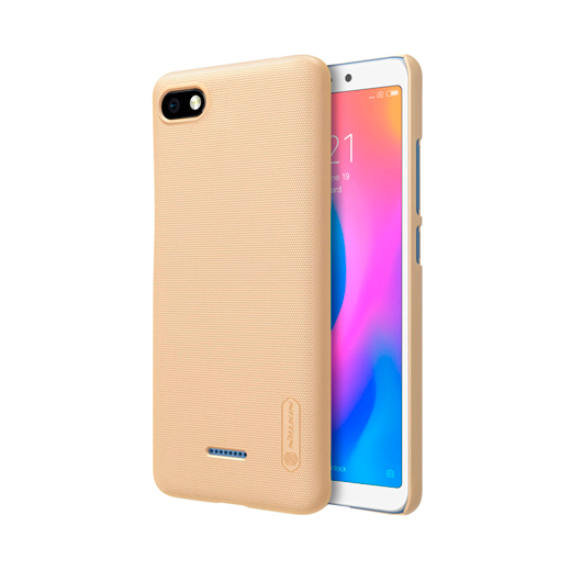 Защитный чехол Nillkin Super Frosted Shield для Xiaomi Redmi 6A Gold