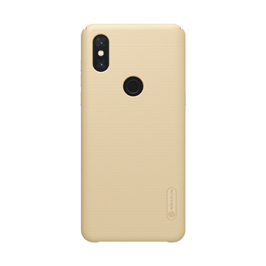 Защитный чехол Nillkin Super Frosted Shield для Mi Mix 3 Gold